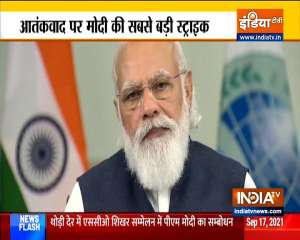 PM Modi addresses plenary session of SCO summit, says - India committed to increasing its connectivity with Central Asia
