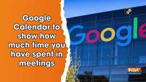 Google Calendar to show how much time you have spent in meetings