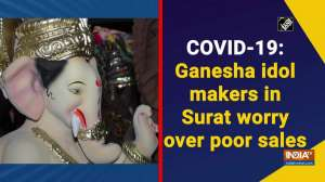 COVID-19: Ganesha idol makers in Surat worry over poor sales
