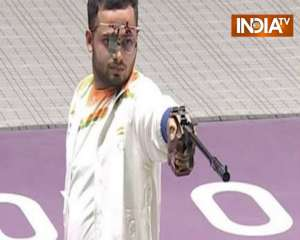 Shooter Manish Narwal wins third gold for India in Tokyo Paralympics
