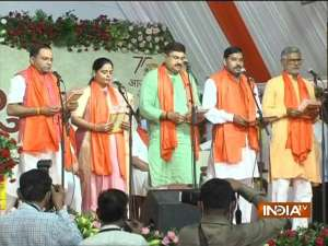 Gujarat new cabinet: 24 ministers sworn in; not a single induction from Rupani-led ministry