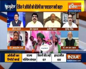 BJP's chacha jaan': Rakesh Tikait's jibe at Asaduddin Owaisi