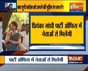 Priyanka Gandhi to visit Lucknow on monday ahead of upcoming UP polls