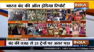 Patna to Mumbai 'Chakka Jam' amid Bharat Bandh