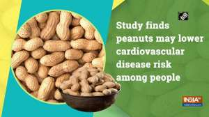Study finds peanuts may lower cardiovascular disease risk among people