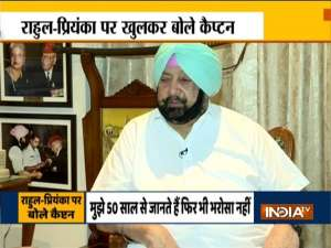 Exclusive interview of Captain Amarinder Singh on Siddhu and Congress Leadership