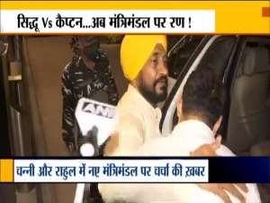 Charanjit Singh Channi on Delhi tour again, discussion for cabinet expansion with Rahul Gandhi underway