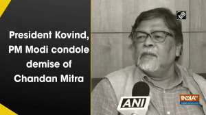 President Kovind, PM Modi condole demise of Chandan Mitra
