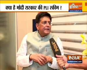 Union Minister of Textiles Piyush Goyal`s Exclusive interview on PM Modi`s PLI Scheme