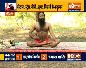 Does increasing weight cause kidney failure? Learn from Swami Ramdev 3 yoga asanas to control obesity