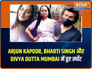 Celebs Spotted! Arjun Kapoor, Bharti Singh, Divya Dutta and others make a splash in the city