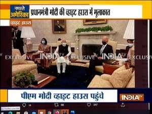 PM Modi holds first bilateral meeting with US President Joe Biden