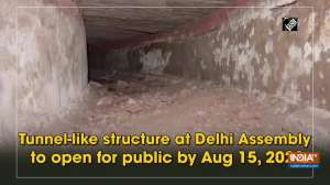 Tunnel-like structure at Delhi Assembly to open for public by Aug 15, 2022
