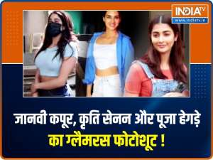 Janhvi Kapoor, Kriti Sanon and others clicked by the paparazzi in the city.