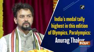 India's medal tally highest in this edition of Olympics, Paralympics: Anurag Thakur