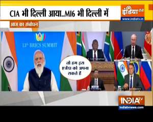 PM Modi chairs BRICS Summit, world leaders advocate settling Afghan crisis through peaceful means