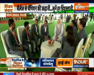 PM Modi hosts Tokyo Paralympics champions at his residence