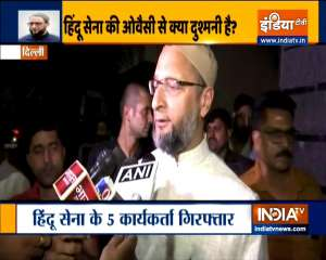 Owaisi on incident of vandalism at his Delhi house-BJP responsible for radicalization of people