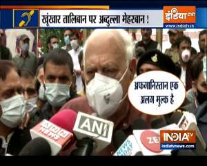 Special News : Now Farooq Abdullah bats for Taliban, says - expecting a good governance