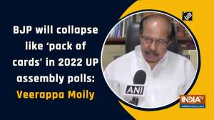 BJP will collapse like 'pack of cards' in 2022 UP assembly polls: Veerappa Moily