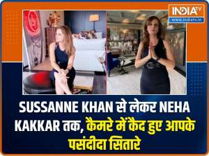 Sussanne Khan to Neha Kakkar, look what your favourite celebs were spotted doing!