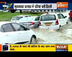 Special News: Heavy rain causes waterlogging in several areas across Delhi-NCR