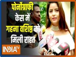 Pornography case: Gehana Vasisth granted interim bail by Supreme Court