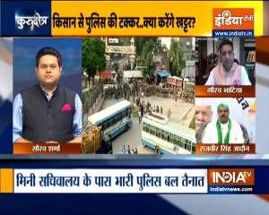 Kurukshetra: Thousands of farmers march towards mini secretariat, threaten siege