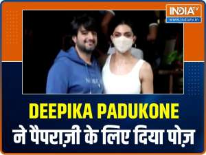Celebs Out and About: Deepika Padukone poses for paparazzi, John Abraham snapped outside gym