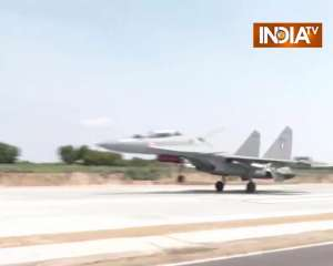 IAF's Emergency Landing Field inaugurated in Barmer, completed within 19 months