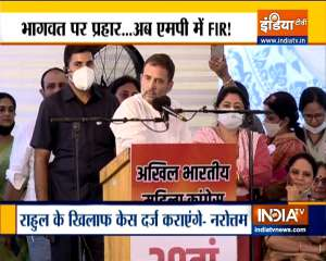 More trouble mounts for Rahul Gandhi for his controversial remark, case to be registered in MP