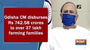 Odisha CM disburses Rs 742.58 crores to over 37 lakh farming families