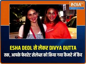 Esha Deol to Divya Dutta, look what your favourite celebs were spotted doing!