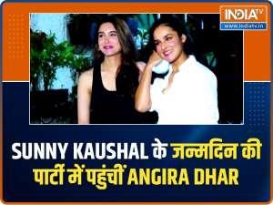 Malaika Arora snapped outside gym, Sharvari Wagh, Angira Dhar attend Sunny Kaushal's birthday bash