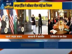 PM Modi invites Kamala Harris to India, USA's VP happily accepts invitation
