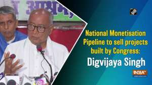 National Monetisation Pipeline to sell projects built by Congress: Digvijaya Singh