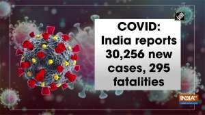 COVID: India reports 30,256 new cases, 295 fatalities