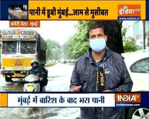 Rain witnessed in several parts of Mumbai