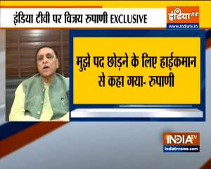 Vijay Rupani EXCLUSIVE: 'I was asked by BJP high command to resign'