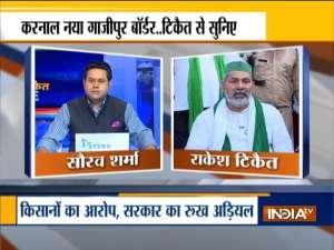 Kurukshetra | Nothing against Haryana govt, but Centre, says Rakesh Tikait