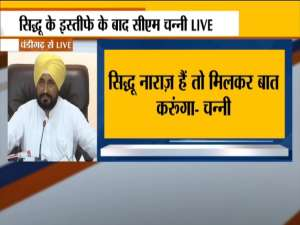 Sidhu resigns as Punjab Congress chief and CM Channi has no idea about it.