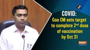 COVID: Goa CM sets target to complete 2nd dose of vaccination by Oct 31