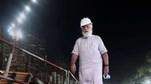 PM Modi`s surprise visit to new Parliament building