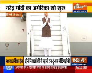 PM Modi leaves for US to attend Quad Leaders' Summit