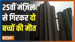 Twins fall to death after falling from 25th floor of a tall building in Ghaziabad