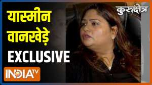 Kurukshetra: Yasmeen Wankhede on why Wankhede family was dragged in Aryan Khan drug case