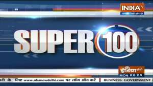 Super 100: Watch the latest news from India and around the world | October 25, 2021