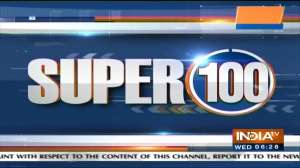 Super 100: Watch the latest news from India and around the world   October 13, 2021