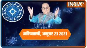 Today Horoscope, Daily Astrology, Zodiac Sign for Saturday, October 23, 2021