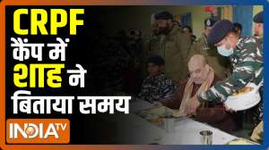 Jammu and Kashmir: Home Minister will stay at the camp in Lethpora, Pulwama camp